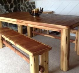 bearcreek woodworks jarbidge nevada custom rustic log furniture